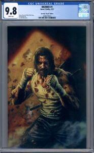 BRZRKR #1  Lee Bermejo 1:100 Virgin Variant  Keanu Reeves 1st Print CGC 9.8