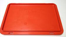 SSI Schäfer EF-D32 Deckel für Behälter Kiste Kasten rot