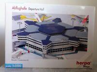 Herpa Wings 519663 1:500 Abflughalle 6eckig top Zustand mit OVP