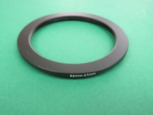 82mm-67mm 82-67 Stepping Step Down Male-Female Filter Ring Adapter 82mm-67mm