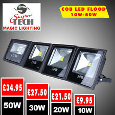 30W LED Landscape Flood, Spot light Cool white Garden/Garage Watweproof UK Stock