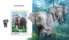 Sierra Leone - 2018 Elephants on Stamps - Souvenir Sheet - SRL18613b