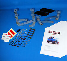Full Stainless Steel FORD FIESTA MK7 Mud Flap Fitting Kit 4 Brackets & Fixings