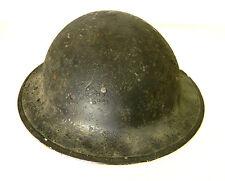 Vintage WWII British Brodie Steel Helmet MKII Dated 1943 w/ Original Liner