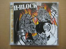 H-BLOCK 101 Burning With The Times AUSSIE 2 x CD 2001 OOP - 0142292 - NEAR MINT