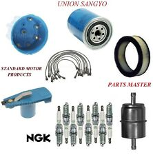 Tune Up Kit Filters Cap Plug Wire For DODGE DART V8 5.2L;Metal In-Line 1969-1972