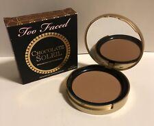 Too Faced Chocolate Soleil Bronzer in Medium / Deep 10 g/.35 oz Full Size NIB