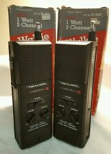 Radio Shack TRC-88 3 Channel CB Walkie Talkies (Pair) Ch 14 Only Boxes TESTED
