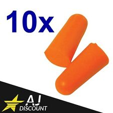 10x Paires de Bouchon d'oreille anti-bruit 37db - Type boule quies