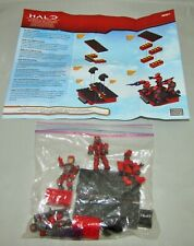 Mega Bloks HALO Red Team Combat Unit Spartan Marines Mini Figures 41 pc Complete