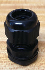12 1/2 inch NPT - Strain Relief Cord Grip Cable Gland with gasket and nut - NEW