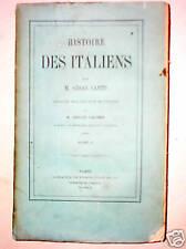 HISTOIRE DES ITALIENS Italie Auguste Caligula Néron