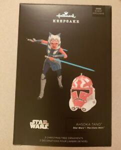 2020 Hallmark Star Wars Ahsoka Tano  332nd Helmet The Clone Wars Ornament SWCA