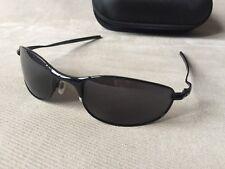 Oakley Tightrope Sunglasses Polished Black/black Iridium 004040-01