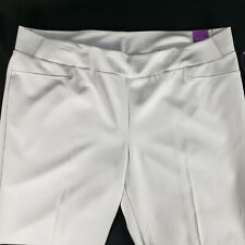 Investments II White Pants 24 W Park Ave Fit Secret Support Slim Leg Ankle Pant