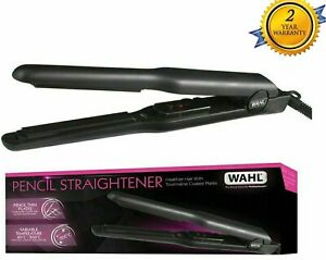 Wahl Pencil Thin Plates Hair Straightner 200ºC for Short Hair Fringe Straightner