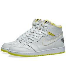 Nike Air Jordan 1 High OG GS First Class Flight White Yellow UK 5 US 5.5Y EU 38