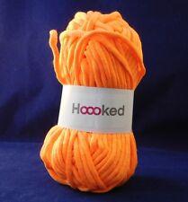 Hoooked Soft Neons Tape Yarn - Crochet -Blazing Orange Super soft Craft