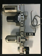 SMC, Supply valve, Lubricator, Prs Switch, Check, Regulator, & Filter Asm. NEW!