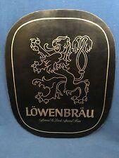 Vintage Lowenbrau Beer Sign Bar Advertisement Special Dark Miller Brewing Brewer