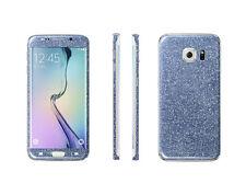 Glitzerfolie Samsung Galaxy S6 Edge+ Plus Bling Glitter Skin Sticker Schutzfolie