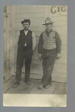 Ramey MINNESOTA RP 1908 MAILMEN U.S.P.S. RFD Mail Man nr Pierz Foley Milaca DPO