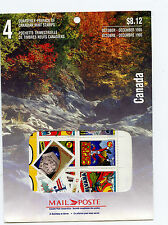 Weeda Canada 1995 Oct-Dec Quarterly Pack, sealed! Face value $8.12, pristine