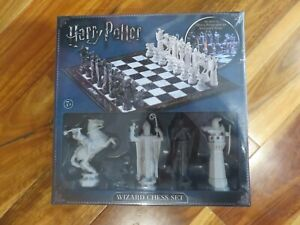 Harry Potter Wizard Chess Set (Brand New) - Noble Collection