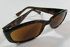 HAND POLISHED Brown Tortoise Frame Gold Temples 51-20-140 Sunglasses