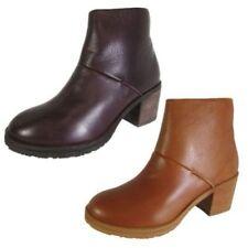 Stiefel aus Echtleder mit Reißverschluss