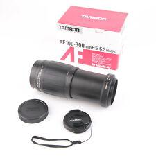 Tamron 186D AF 100-300mm Tele-Macro (1:4) Lens 1:5-6.3 For Minolta-AF   WORKING