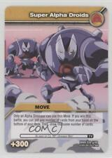 2009 Dinosaur King Trading Card Game #DKBD-050 Super Alpha Droids Gaming 1i3