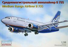 EASTERN EXPRESS 14420 MEDIUM RANGE AIRLINER B 735 SCALE MODEL KIT 1/144 NEW