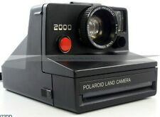 Polaroid Land Camera 2000 RED BUTTON LARGE FOCUS RING (AVL822)