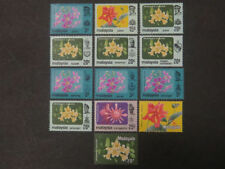 Mint Never Hinged/MNH Malaysian Stamps