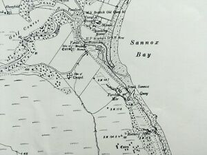 1924 Edition Topographical Map of the Isle of Arran. Argyllshire CCXXXVIII.