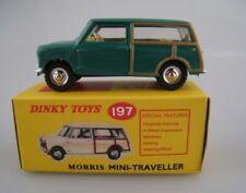 Morris Mini Traveller  in grün  DINKY TOYS  1:43  OVP  NEU