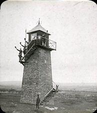 COËTQUIDAN 1907 - Observatoire Nord - Bretagne Positif Verre 10 x 8 - 93
