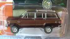 JOHNNY LIGHTNING 2017 1:64 81 JEEP WAGONEER BURGUNDY MIJO EXCLUSIVE IN STOCK