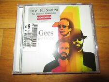 BEE GEES NUMBER ONES CD/NEW/SEALED!