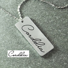 Personalized Signature Necklace- Custom Handwriting Necklace- Best gift for Love