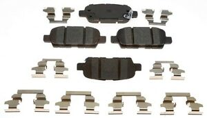 Disc Brake Pad Set-Ceramic Rear ACDelco Pro Brakes 17D905CH
