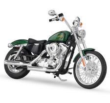 Maisto 1:12 Harley Davidson 2013 XL 1200V Seventy Two Motorcycle Green