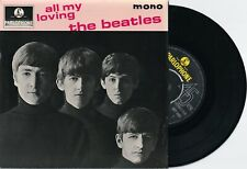 """RARE BEATLES """"ALL MY LOVING"""" EP.  YELLOW AND BLACK LABELS"""