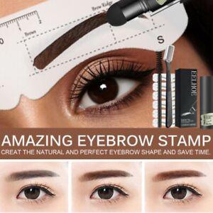 Waterproof Eyebrow Stamp Shaping Makeup Set One Step Brow Stamp Shaping Kit