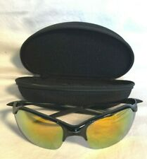 OAKLEY Split Frame sunglasses + Lens CASE Mirror reflecting lens YELLOW GOLD