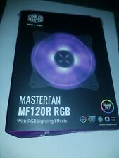 Cooler Master MF120R RGB 12cm 12V 4PIN 120mm PWM CPU cooling quiet PC fan