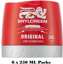 3 or 6 Packs of Brylcreem  / Brylcream Original 250ml