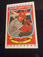 1973 Kellogg's Pro Super Stars #6 Pete Rose Cincinnati Reds nm SHARP & CLEAN