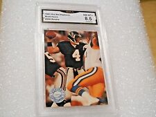 Brett Favre GRADED ROOKIE!! 1991 Platinum #290 Green Bay Packers HOFer!! 8.5%3